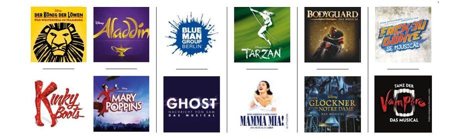 Sparen beim Kartenkauf auf Stage Entertainment