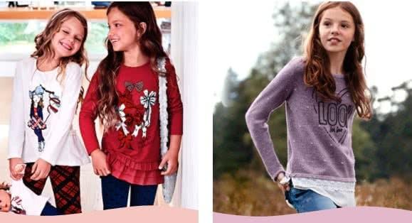 Mädchenkleidung einkaufen bei Ernstings family