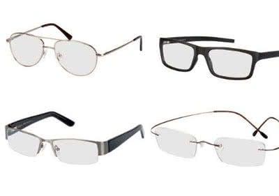 Das Wunschgestell kommt mit den passenden Gläsern dank Gutschein zum kleinen Preis