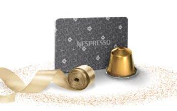Immer eine gute Geschenkidee: Gutscheinkarten für Nespresso