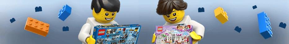 Im Lego Shop entdecken Sie die ganze Welt der Baustein-Freude