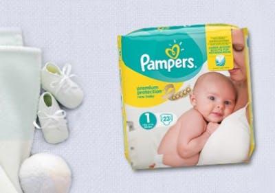 Rundum sorglos dank der Hilfe und den Produkten von Pampers