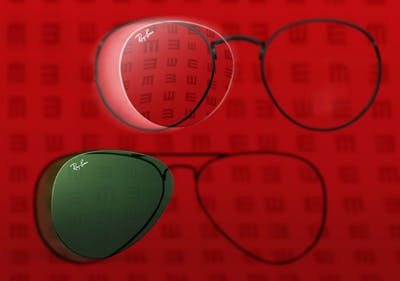 Korrekturbrillen werden dank eins Gutscheins für Ray-Ban preisgünstig