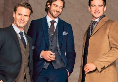 Hochwertige Anzüge bei Herrenausstatter kaufen