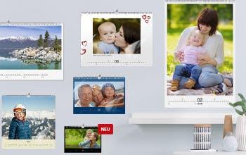 Das Sortiment von CEWE beinhaltet unterschiedliche Fotoprodukte