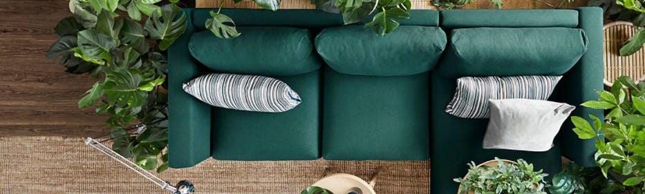 Die eigene Wohnung individuell mit Möbeln von IKEA gestalten