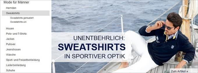 Vom Businesslook bis zur Sportbekleidung für den Mann gibt es bei Babista alles zu kaufen