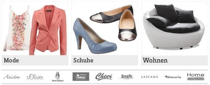Mode, Schuhe und mehr gibt´s bei BAUR