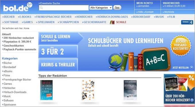 Bol.de-Onlineshop