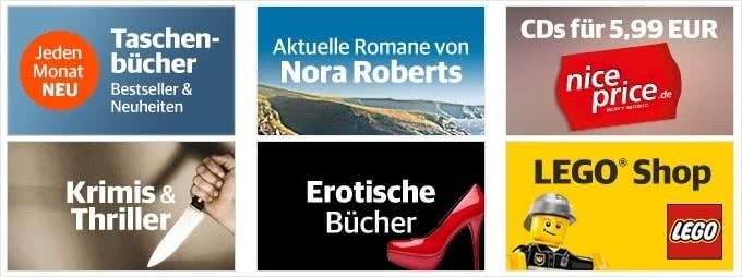 Buch.de bietet neben einer großen Auswahl an Büchern aller Genres auch Musik, Games, Software, Spielwaren und mehr an