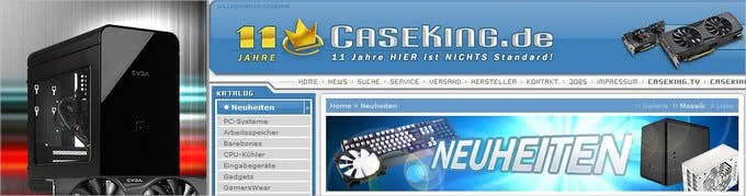 Technik-Neuheiten bei Caseking