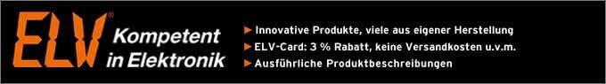 Große Auswahl im ELV-Elektronikversand