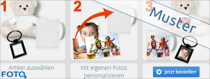 Große Auswahl an Fotogeschenken bei Foto.com
