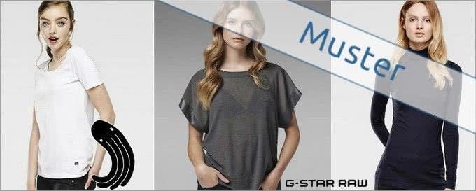 Shirts in angesagten Schnitten bekommen Sie bei G-Star