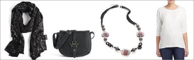 Gerry Weber bietet neben Mode auch Accessoires wie Schmuck und Taschen an