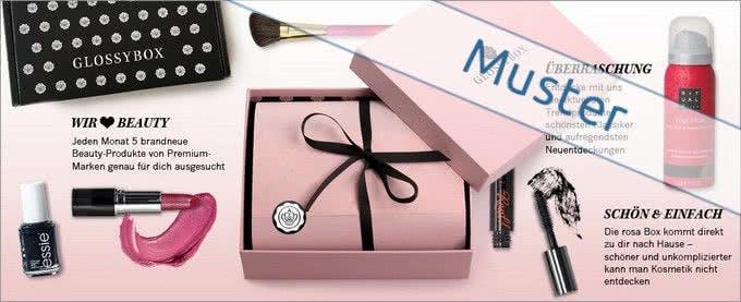 Beauty-Artikel im monatlichen Abo bietet Ihnen die Glossybox