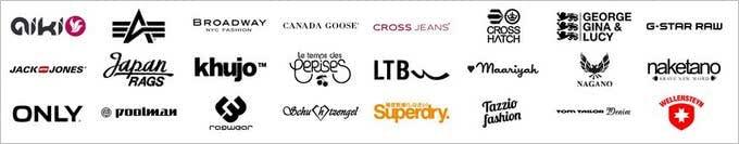 Diese Marken finden Sie bei Guna