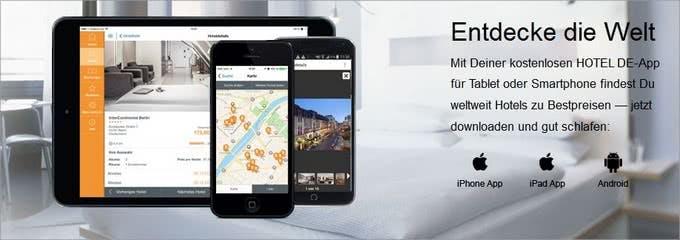 Apps von HOTEL DE