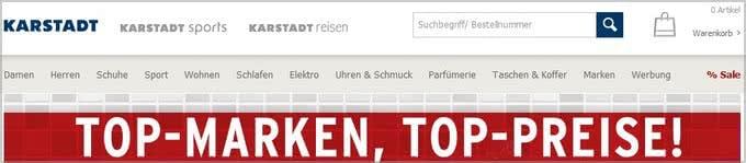 Karstadt-Onlineshop