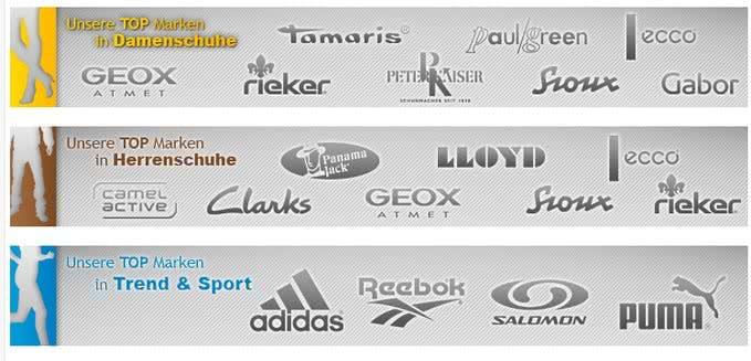 Topmarken bei Markenschuhe.de mit einem Gutschein günstiger