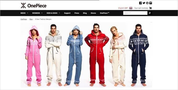 Bei OnePiece finden Sie trendige Jumpsuits für Damen, Herren und Kinder.