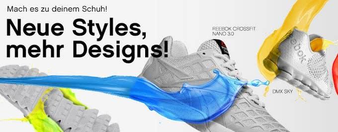 Schuhe personalisieren bei Reebok