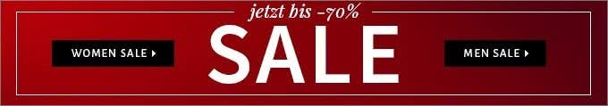 Sale-Bereich im Online-Shop von Fashionesta