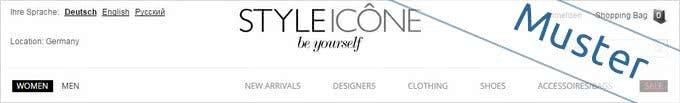 STYLEICONE-Onlineshop