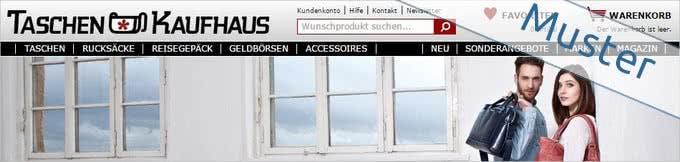 Onlineshop von Taschenkaufhaus